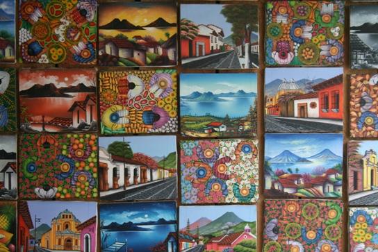 Guatemala painting