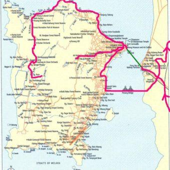 Map Penang