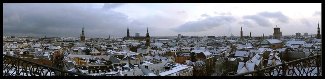 Copenhaguen panorama