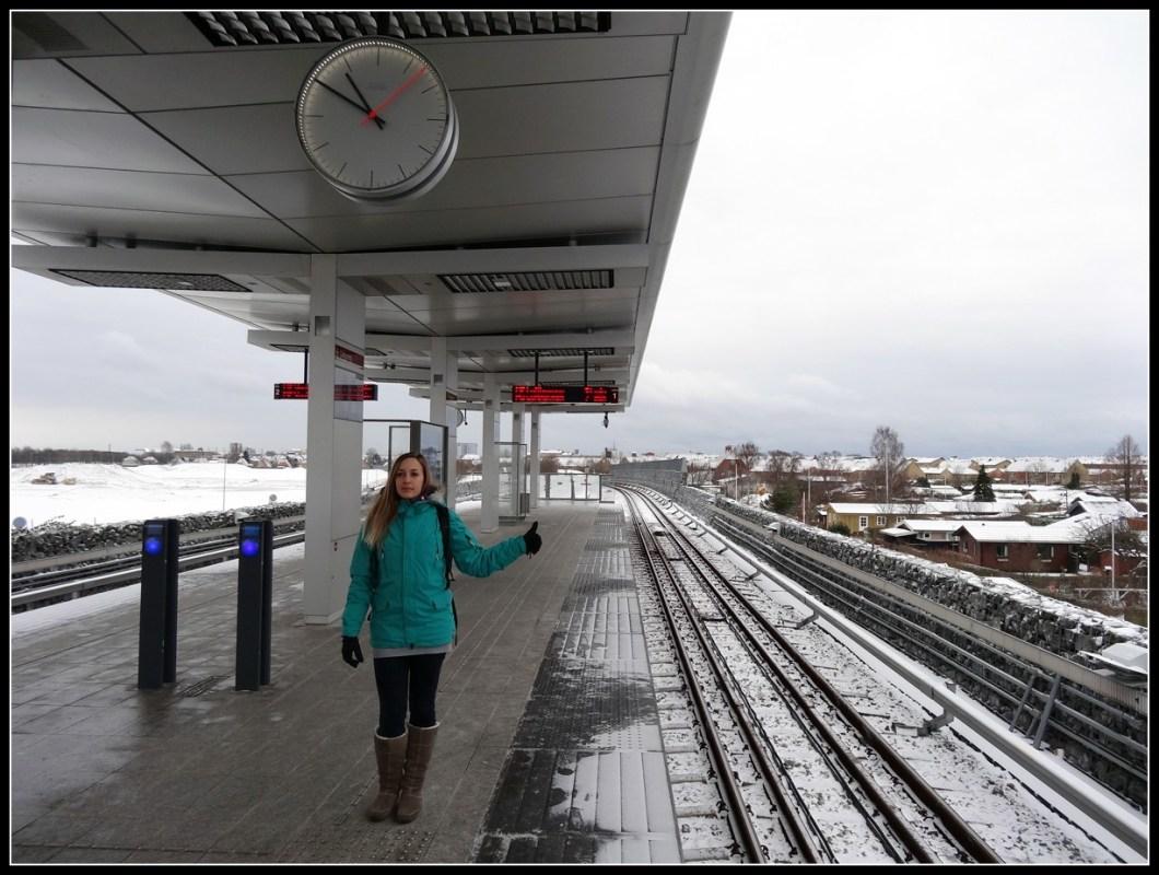 Copenhaguen metro
