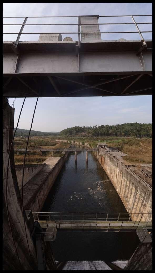 Panoramic karapuzha dam