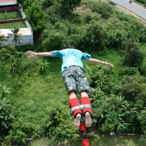 Bungy jump Thailand