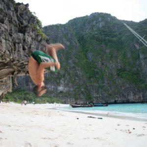 Backflip in Kho Phi Phi
