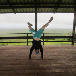 Handstand Galapagos