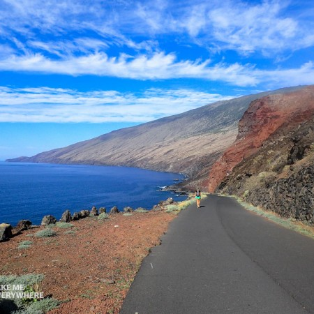 Wonderful road to El Tacoron