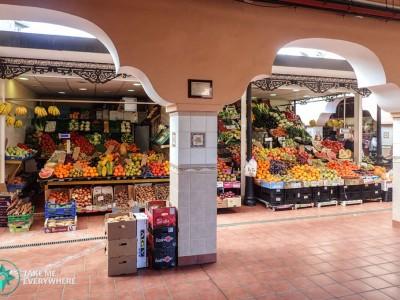 Marché au fruit à Santa Cruz de Tenerife