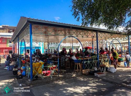 The mercado of Mindelo