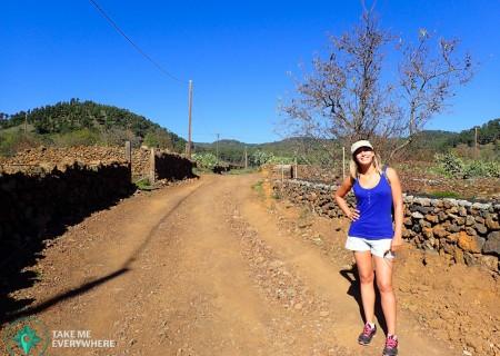 Rando au dessus d'El Pinar