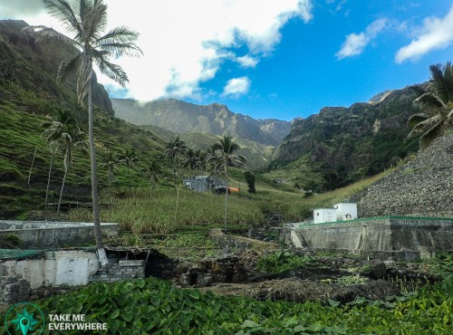 Typical view in Santo Antao