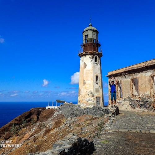 Faro en Santo Antao