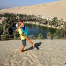Love at first sight in Huacachina