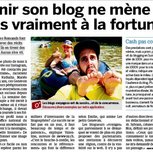 blogueur voyage suisse