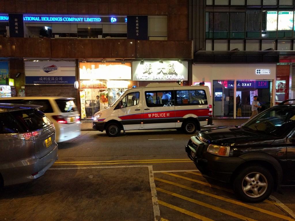 香港パトカー