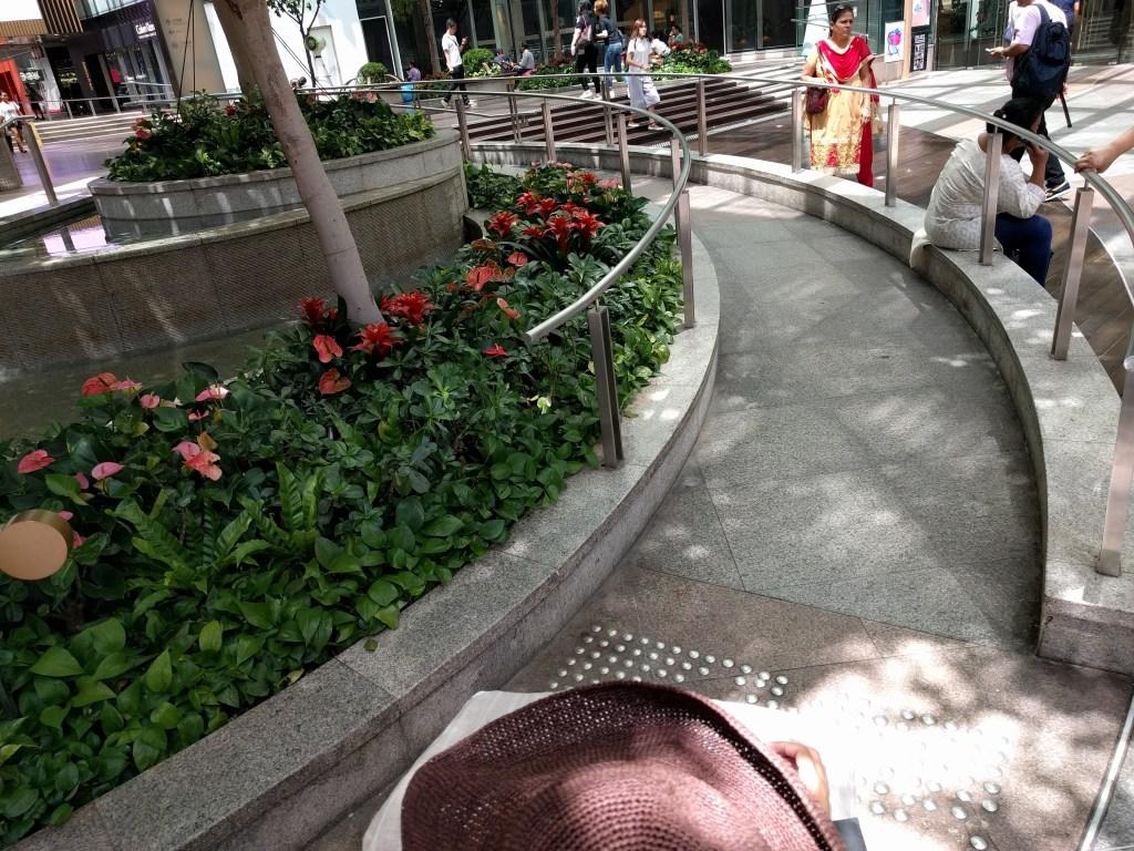 香港車いす舗装