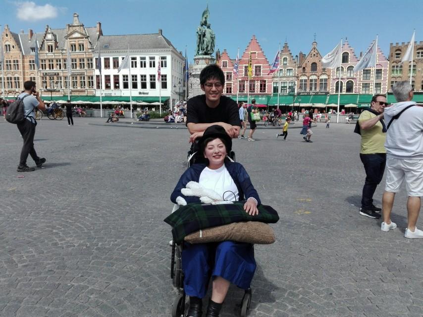 車椅子ベルギー