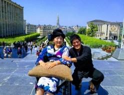 ベルギー車椅子旅行