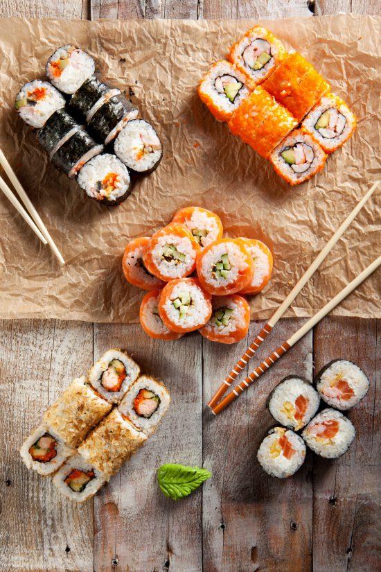 Sushi migliori ristoranti ricette  Take2Meit