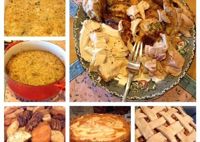 Thanksgiving recap & holiday baking to look forward to