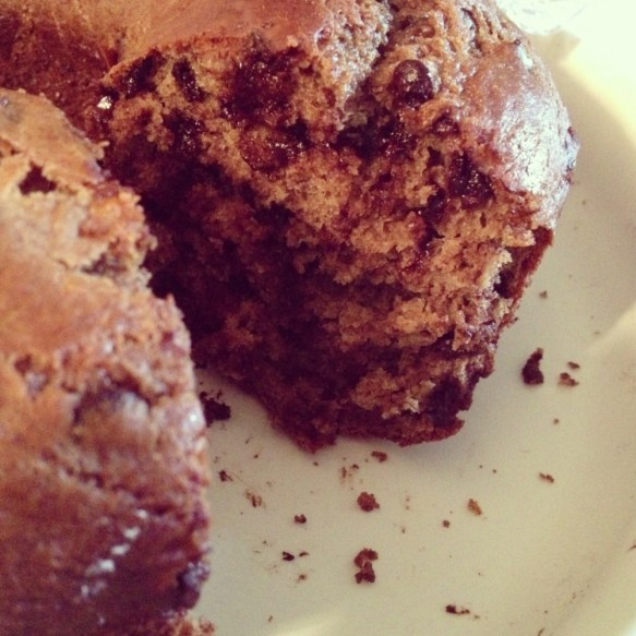 Blogger Brunch Week and Chocolate Chip Banana Bundt Cake