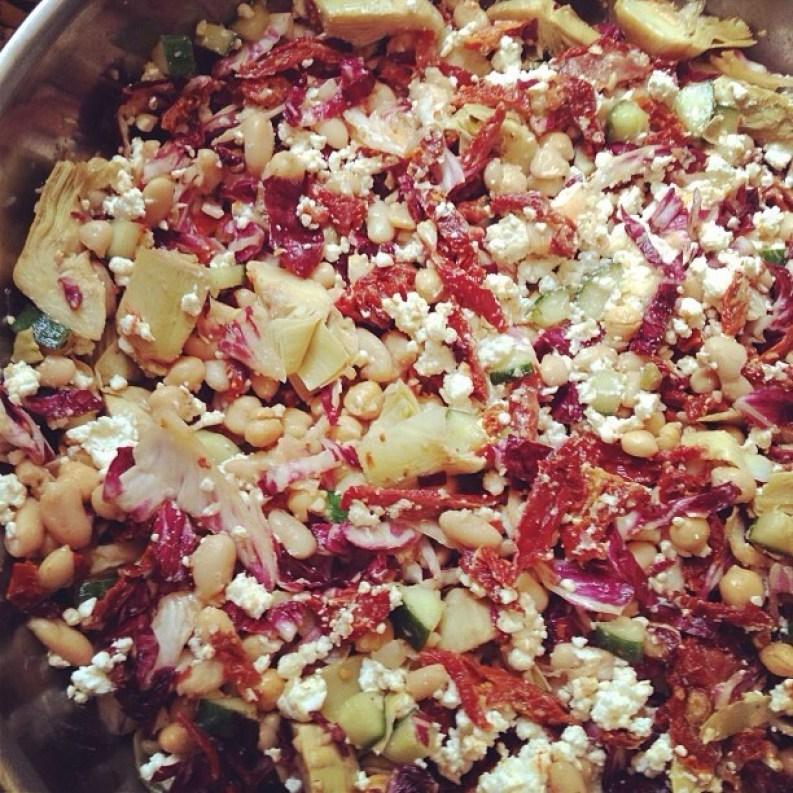 Vegetarian Antipasti Salad