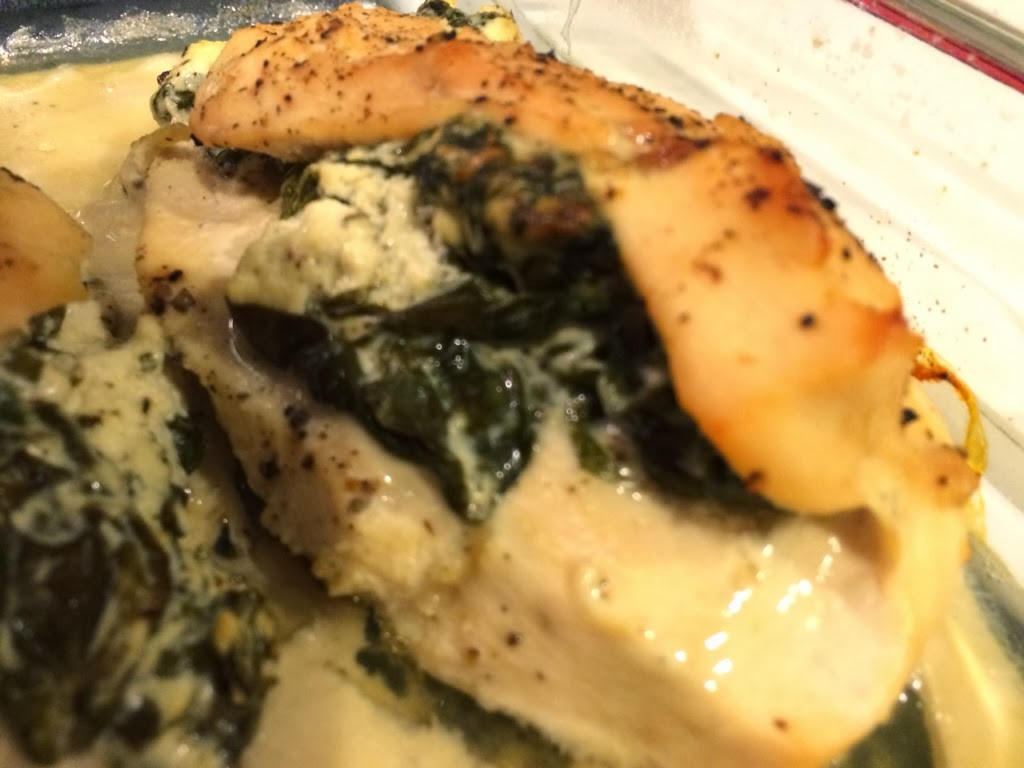 Spinach and Goat Cheese Stuffed Chicken for #WeekdaySupper ...