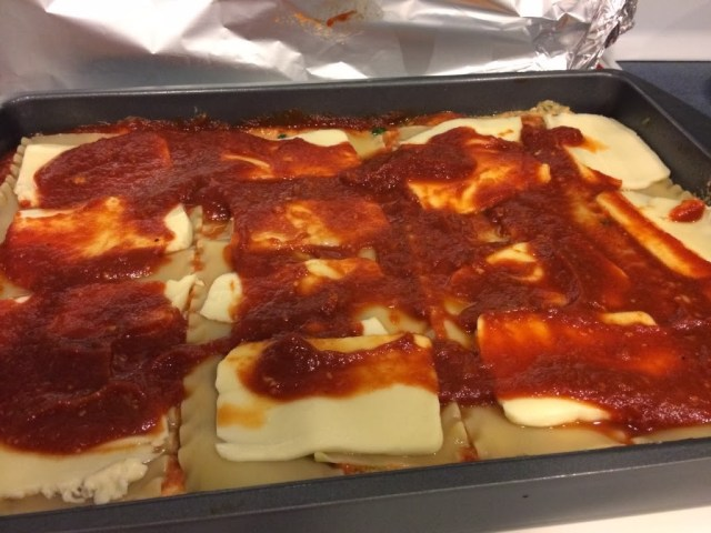 Amy's Baked Spinach Lasagna