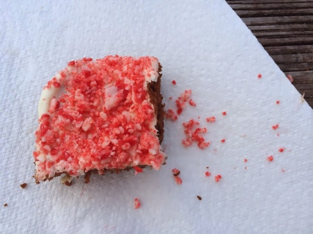 Peppermint Crunch Brownies - Have A #GRAINHoliday Sweepstakes