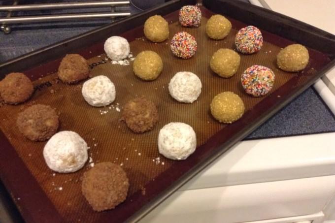 Happy Birthday Cake Mix Truffles #SundaySupper Turns Two!