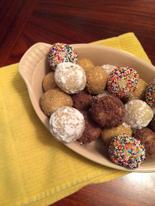 Happy Birthday Cake Mix Truffles #SundaySupper Turns Two!
