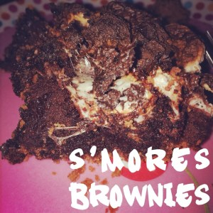 Triple Chocolate S'mores Brownie #SundaySupper