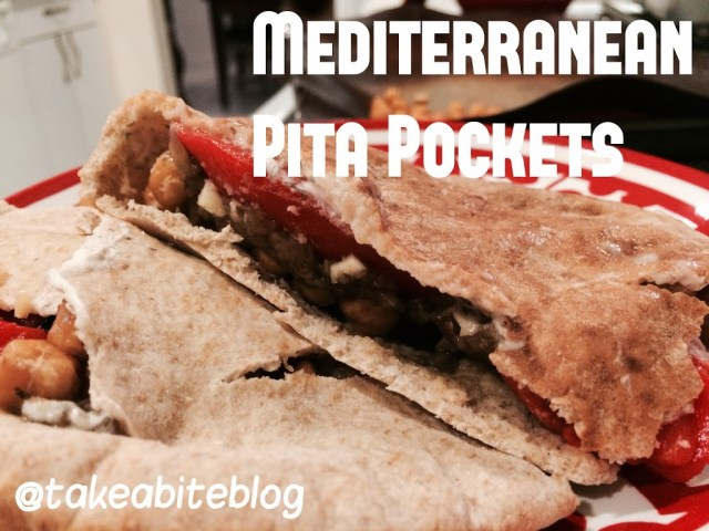 Mediterranean Pita Pockets #WeekdaySupper