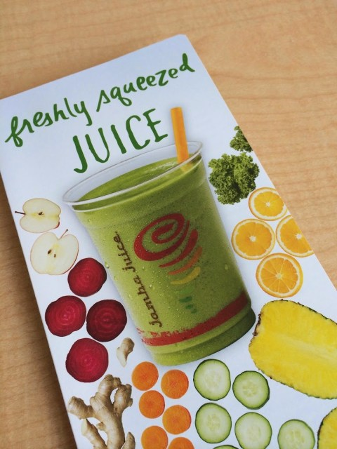 Juiced-To-Order: Adventures in Juice Tasting at Jamba Juice