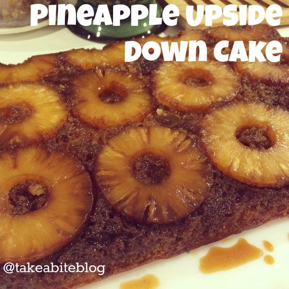 Pineapple Upside Down Cake #SundaySupper - Take A Bite Out of Boca