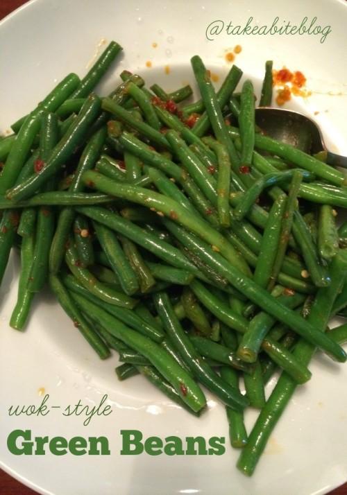 Wok-Style Green Beans