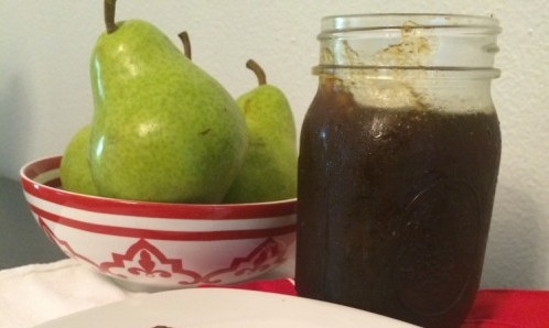 ginger-pear marmalade