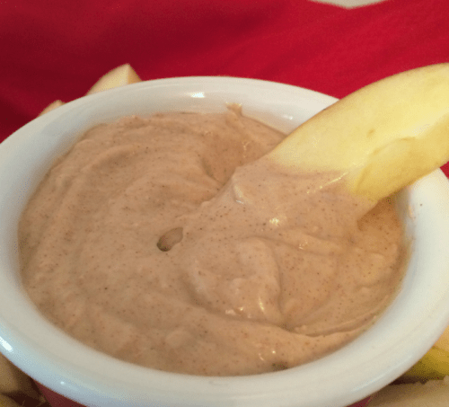 Cinnamon Raisin Peanut Butter Dip