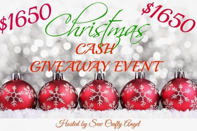 $1650 Christmas Cash Giveaway