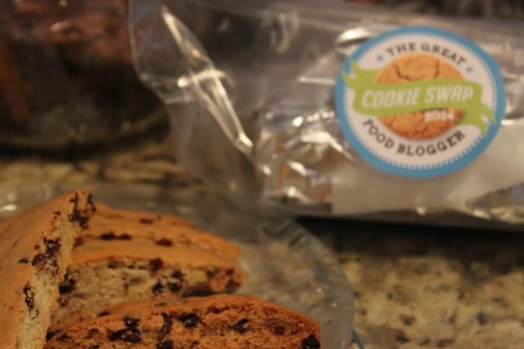 chocolate chip mandelbrot #fbcookieswap