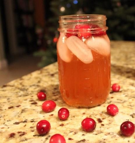 Cranberry-Orange Moscato Sangria