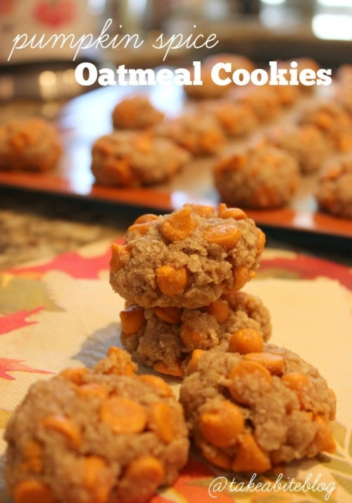 Pumpkin Spice Oatmeal Cookies #LeftoversClub