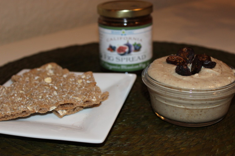 Fig & Blue Cheese Dip. Spread the love with Orchard Choice