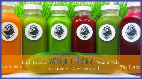 Cleansing with Swami Juice