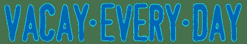 Vacay Every Day logo-blue