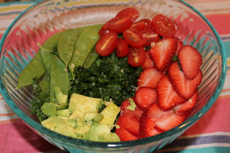 Strawberry and Avocado Salad #WeekdaySupper