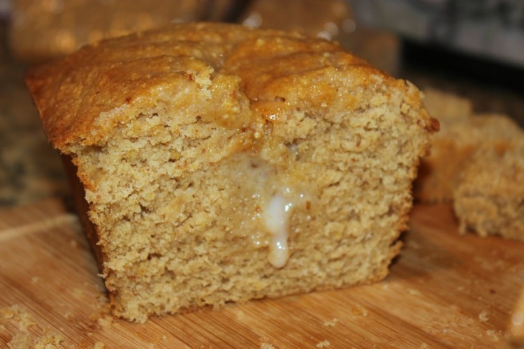 Yogurt Culture: Iced Almond-Lemon Loaf Cake #stonyfieldblogger