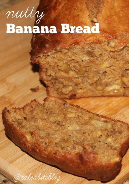 Nutty Banana Bread #Brunchweek