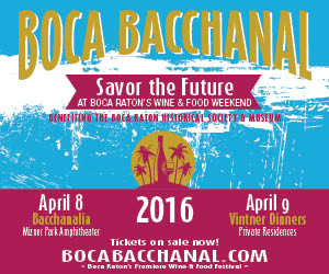 Coming Up — 14th Annual Boca Bacchanal Wine & Food Festival