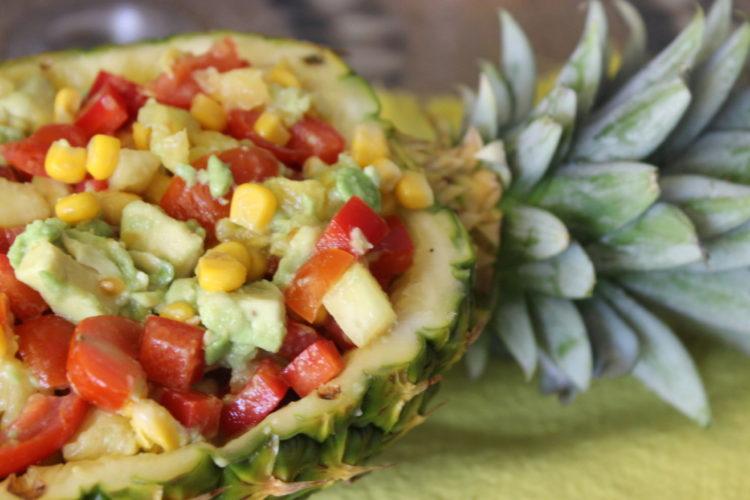 Pineapple Boat Salsa