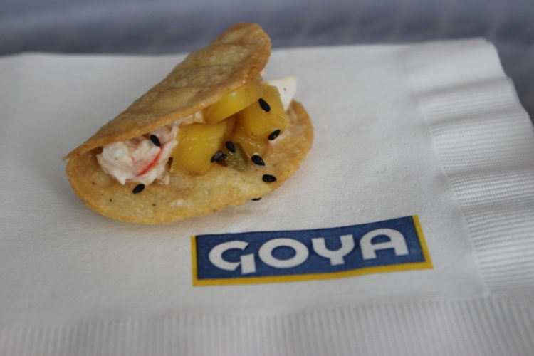South Beach Seafood Festival GOYA Foods Crab Tacos