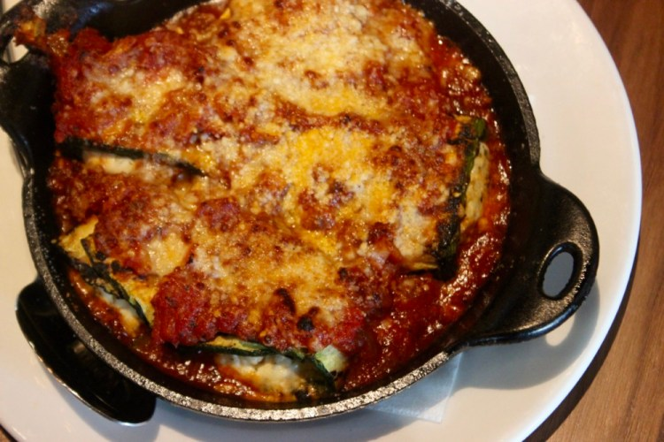 Burton's Grill and Bar Stuffed Grilled Zucchini
